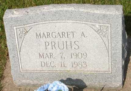 PRUHS, MARGARET A. - Clinton County, Iowa | MARGARET A. PRUHS