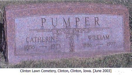 PUMPER, WILLIAM - Clinton County, Iowa | WILLIAM PUMPER