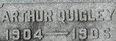 QUIGLEY, ARTHUR - Clinton County, Iowa   ARTHUR QUIGLEY