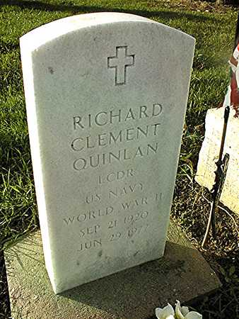 QUINLAN, RICHARD CLEMENT - Clinton County, Iowa   RICHARD CLEMENT QUINLAN