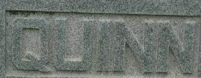 QUINN, FAMILY MONUMENT - Clinton County, Iowa   FAMILY MONUMENT QUINN