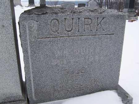 QUIRK, ELLEN - Clinton County, Iowa   ELLEN QUIRK