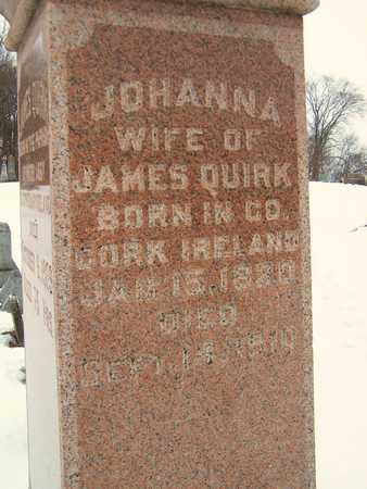 QUIRK, JOHANNA - Clinton County, Iowa | JOHANNA QUIRK