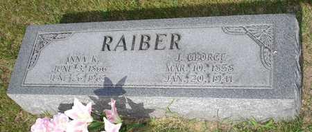 RAIBER, ANNA K. - Clinton County, Iowa | ANNA K. RAIBER