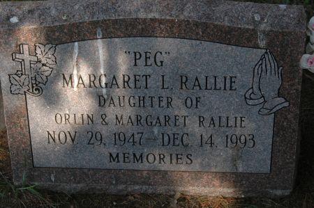 RALLIE, MARGARET L.