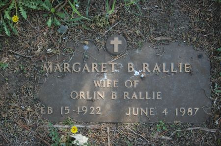 RALLIE, MARGARET B. - Clinton County, Iowa   MARGARET B. RALLIE