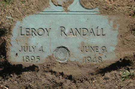 RANDALL, LEROY - Clinton County, Iowa   LEROY RANDALL