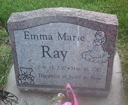 RAY, EMMA MARIE - Clinton County, Iowa | EMMA MARIE RAY