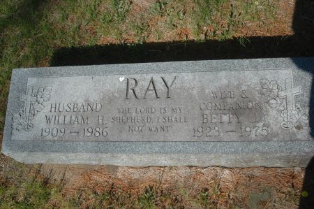 RAY, WILLIAM H. - Clinton County, Iowa   WILLIAM H. RAY