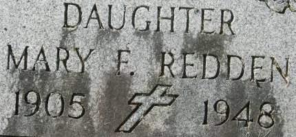 REDDEN, MARY F. - Clinton County, Iowa | MARY F. REDDEN