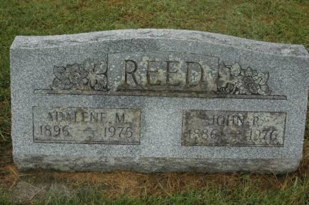 REED, ADALENE M. - Clinton County, Iowa   ADALENE M. REED