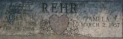 REHR, ALBERT H. - Clinton County, Iowa | ALBERT H. REHR