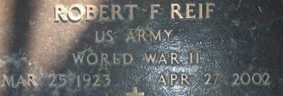 REIF, ROBERT F. - Clinton County, Iowa | ROBERT F. REIF