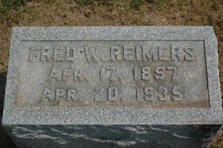REIMERS, FRED W. - Clinton County, Iowa   FRED W. REIMERS