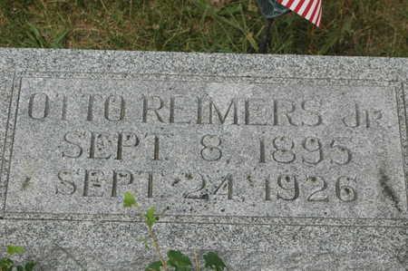 REIMERS, OTTO JR. - Clinton County, Iowa | OTTO JR. REIMERS