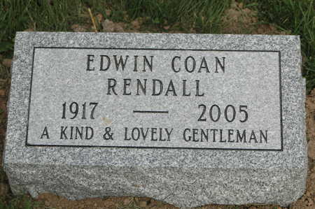 RENDALL, EDWIN WELLS - Clinton County, Iowa | EDWIN WELLS RENDALL