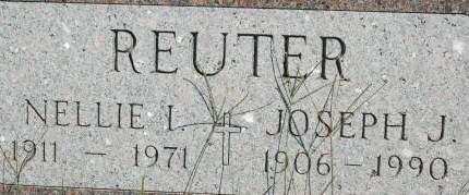 REUTER, NELLIE I. - Clinton County, Iowa | NELLIE I. REUTER