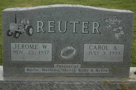 REUTER, CAROL A. - Clinton County, Iowa | CAROL A. REUTER