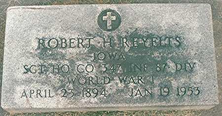 REYELTS, ROBERT H. - Clinton County, Iowa | ROBERT H. REYELTS