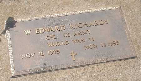 RICHARDS, W. EDWARD - Clinton County, Iowa | W. EDWARD RICHARDS