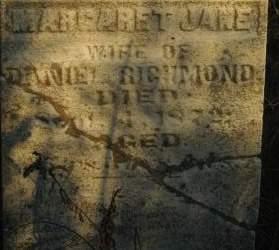 RICHMOND, MARGARET JANE - Clinton County, Iowa   MARGARET JANE RICHMOND