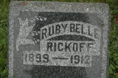 RICKOFF, RUBY BELLE - Clinton County, Iowa | RUBY BELLE RICKOFF