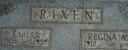 RIXEN, EARL J. - Clinton County, Iowa   EARL J. RIXEN