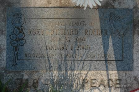 ROEDER, ROXY RICHARD - Clinton County, Iowa | ROXY RICHARD ROEDER