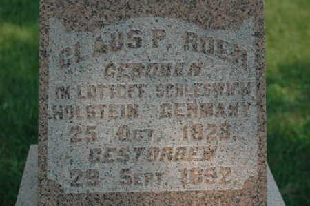 ROEH, CLAUS P. - Clinton County, Iowa | CLAUS P. ROEH