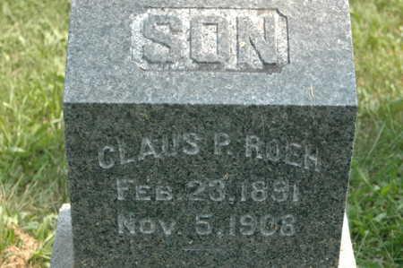 ROEH, CLAUS P. - Clinton County, Iowa   CLAUS P. ROEH
