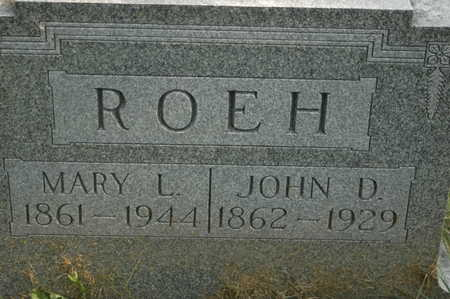 ROEH, MARY L. - Clinton County, Iowa | MARY L. ROEH