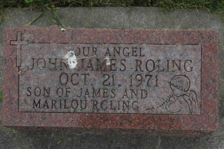 ROLING, JOHN JAMES - Clinton County, Iowa | JOHN JAMES ROLING