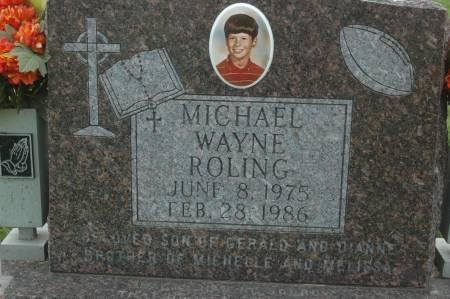 ROLING, MICHAEL WAYNE - Clinton County, Iowa | MICHAEL WAYNE ROLING