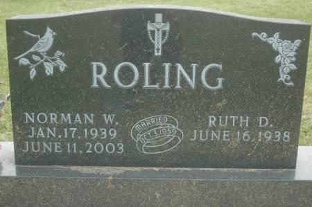 ROLING, RUTH D. - Clinton County, Iowa | RUTH D. ROLING