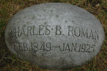 ROMAN, CHARLES B. - Clinton County, Iowa   CHARLES B. ROMAN