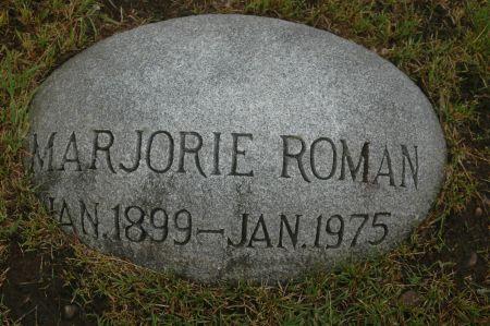 ROMAN, MARJORIE - Clinton County, Iowa   MARJORIE ROMAN