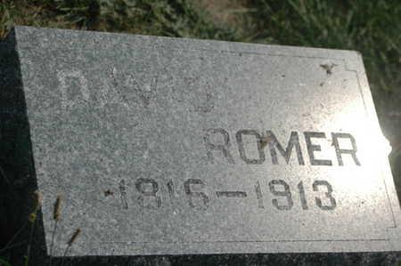 ROMER, DAVID - Clinton County, Iowa | DAVID ROMER
