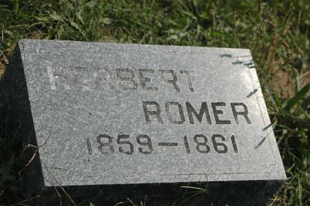ROMER, HERBERT - Clinton County, Iowa | HERBERT ROMER