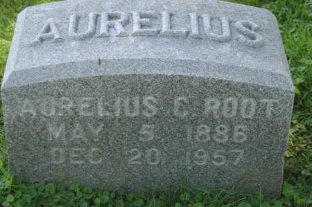 ROOT, AURELIUS C. - Clinton County, Iowa   AURELIUS C. ROOT