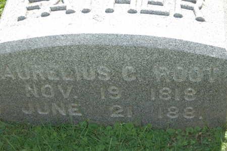 ROOT, AURELIUS C. - Clinton County, Iowa | AURELIUS C. ROOT