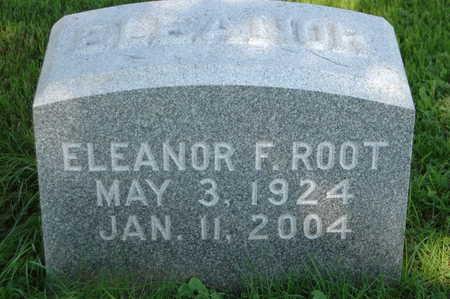 ROOT, ELEANOR F. - Clinton County, Iowa   ELEANOR F. ROOT