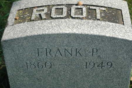 ROOT, FRANK P. - Clinton County, Iowa | FRANK P. ROOT