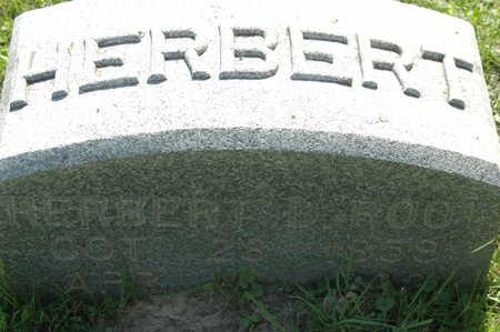 ROOT, HERBERT D. - Clinton County, Iowa | HERBERT D. ROOT