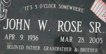 ROSE, JOHN W. SR. - Clinton County, Iowa | JOHN W. SR. ROSE