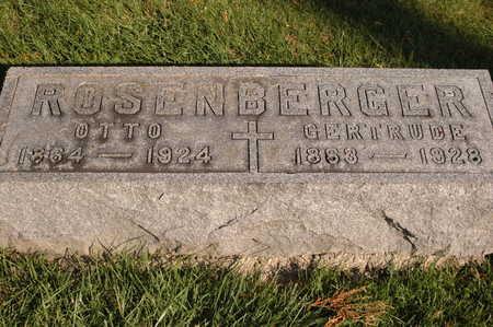 ROSENBERGER, OTTO - Clinton County, Iowa | OTTO ROSENBERGER