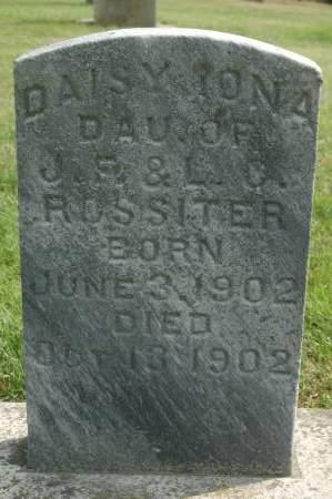 ROSSITER, DAISY IONA - Clinton County, Iowa   DAISY IONA ROSSITER