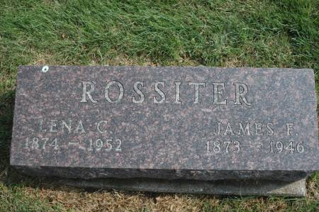 ROSSITER, JAMES F. - Clinton County, Iowa | JAMES F. ROSSITER