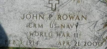 ROWAN, JOHN P. - Clinton County, Iowa | JOHN P. ROWAN