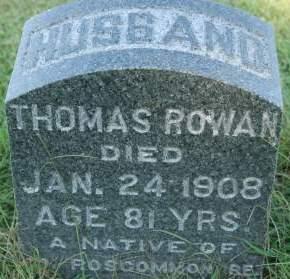 ROWAN, THOMAS - Clinton County, Iowa | THOMAS ROWAN