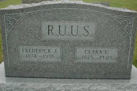 RUUS, CLARA E. - Clinton County, Iowa | CLARA E. RUUS